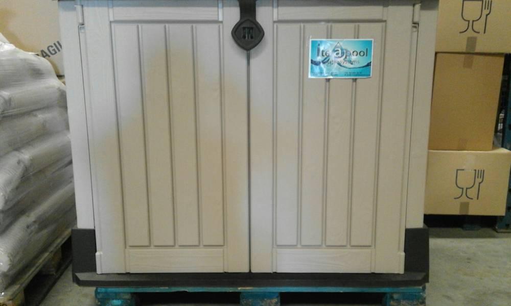 Depuradora piscina con caseta elevada 480 0 75 cv tienda for Caseta depuradora piscina