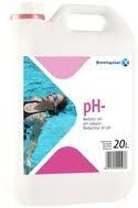 Minorador de pH liquido sulfurico piscinas