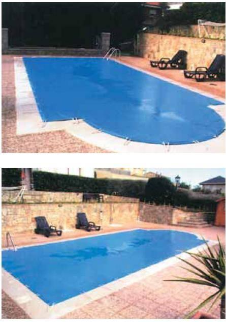 Lona piscina dora tienda online productos iteapool for Piscinas de lona rectangulares