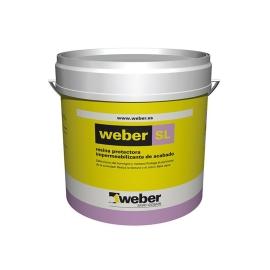 Weber resina protectora impermeabilizante