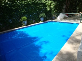 Cobertor espuma piscina