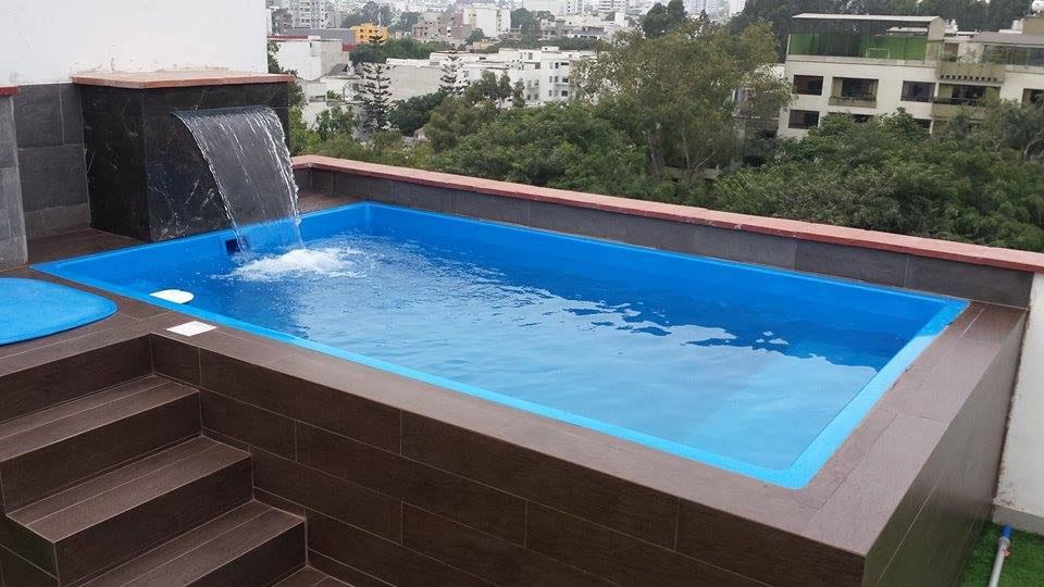 Vaso mini piscina prefabricada elevada sol tienda online for Vaso piscina