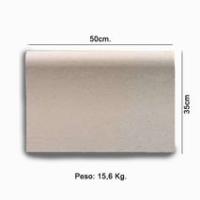 Piedra de coronacion piscina modelo 50 X 35 milimetros crema