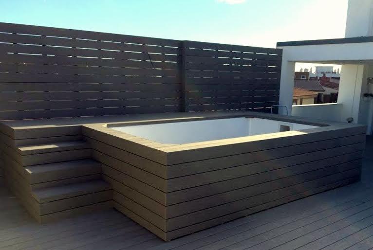 Mini piscina prefabricada elevada sol tienda online - Mini piscinas prefabricadas ...