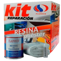 Kit  Reparación resina de poliéster