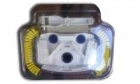 Limpiafondos manual con cepillo lateral Élite