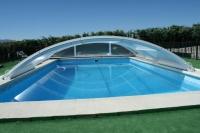Cubierta de piscina modelo Teide