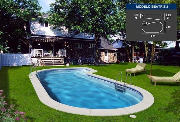 Lona piscina beatriz 3 tienda online productos iteapool for Piscinas de pvc baratas