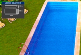 Lona piscina Comunidad