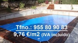 Cobertor piscina de protección 580 grs