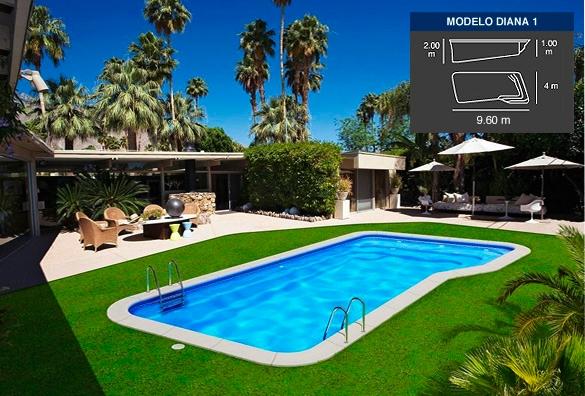 Lona piscina diana 1 tienda online productos iteapool for Piscinas pvc baratas