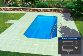 Lona piscina Canarias