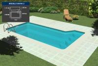 Lona piscina Bah  a 2