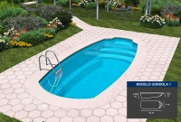 Lona piscina G  ndola 1