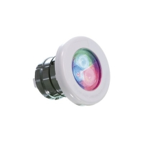 Focos piscina led multicolor con nicho 30 watios