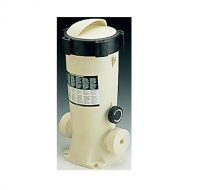 Dosificador automático de cloro y bromo para piscinas