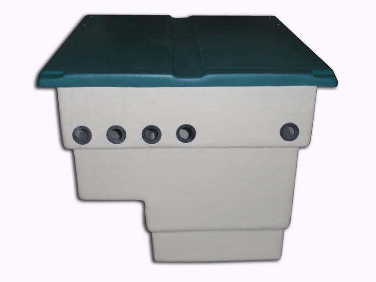 Caseta vac a depuradora piscina 500 mm tienda online for Tapa depuradora piscina