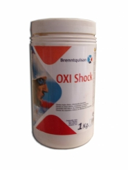 Cloro rapido piscina Oxi Shock 1 Kilo