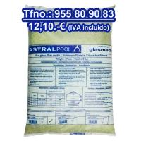 Vidrio piscina filtrante Astralpool 0,5-1 25 kgs