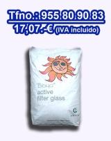 Vidrio piscina filtrante Bioma 20 kgs