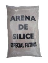 Arena filtro piscina de sílex 0,4-0,8 mm 25 kgs
