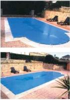 Lona piscina 2x3 mts stándar
