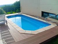 Vaso piscina prefabricada Capella