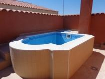 Vaso Mini piscina prefabricada atico Noelia