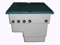 Caseta depuradora piscina vacía para filtro de 600 mm