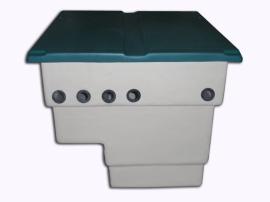 Caseta depuradora piscina vacia para filtro 400 mm
