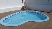 Vaso piscina de fibra pequeña Aldebarán