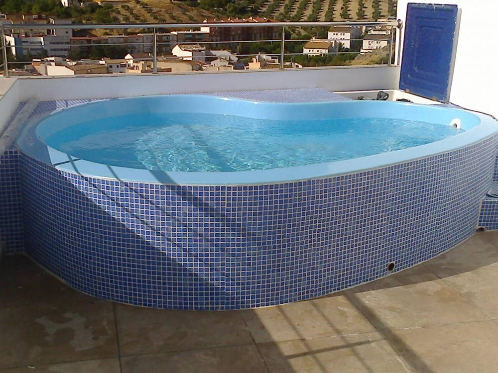 Vaso piscina de fibra peque a aldebar n tienda online for Vaso piscina