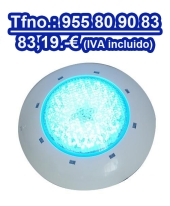 Focos piscina Eco led multicolor extraplano