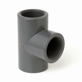 Te lisa PVC de 63 mm