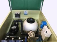 Depuradora con caseta y clorador salino ph 120 m3