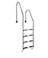 Escalera estándar asimetrica 4 peldaños