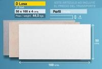 Losa piscina de continuación 50x100 mm blanca