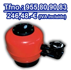Filtro piscina Star Plus Astralpool 500 mm