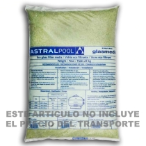 Vidrio filtrante piscinas Astralpool 1 3 mm