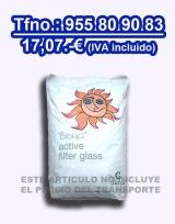 Vidrio filtrante piscina Bioma 20 kgs