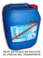 Hipoclorito sódico envase de 28 kgs