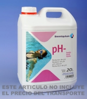 Reductor de ph 20 litros