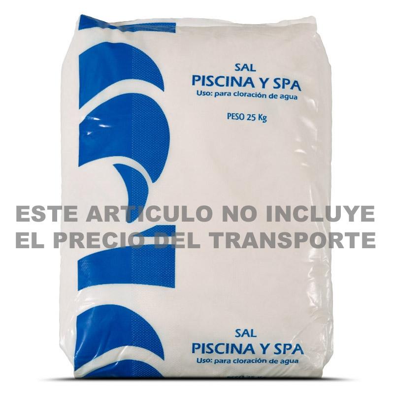 Sal para piscinas 25 kgs tienda online productos iteapool for Sal para piscinas