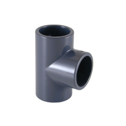 Te 90   PVC de 40 mm