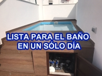 Vaso piscina prefabricada Estela