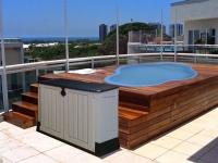 Piscina terraza Dorada 1