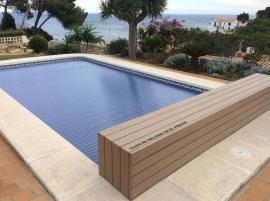 Cubierta Autom  tica piscina Flotante Solar 8 X 4 mts