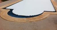 Módulo a� adido piscina escalera cobertor lama max