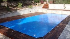 Cobertor piscina de protecci  n 600 grs