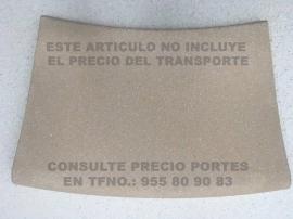 Piedra piscina curva exterior 58X35 crema